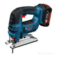 Электролобзик Bosch GST 18 V-LI B Professional 06015A6103 (с 2мя АКБ 5 а*ч)