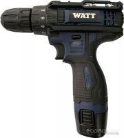Дрель-шуруповерт Watt WAS-12Li-1 101202511 (с 2-мя АКБ, кейс)