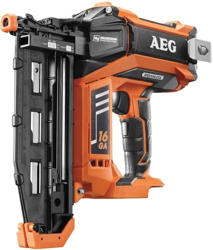 Аккумуляторный гвоздезабиватель AEG B16N18-0 4935451533