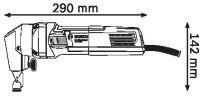 Ножницы Bosch GNA 75-16 0.601.529.400