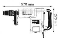 Электрический отбойный молоток Bosch GSH 11 E Professional 0611316708