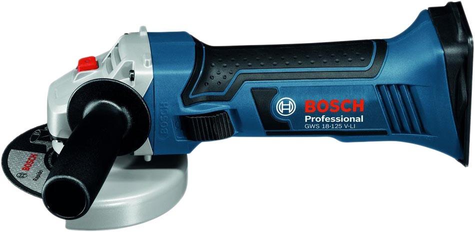 Угловая шлифмашина Bosch GWS 18-125 V-LI Professional 060193A307