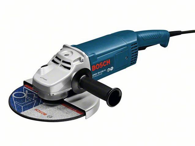 Угловая шлифмашина Bosch GWS 20-230 H Professional 0601850107