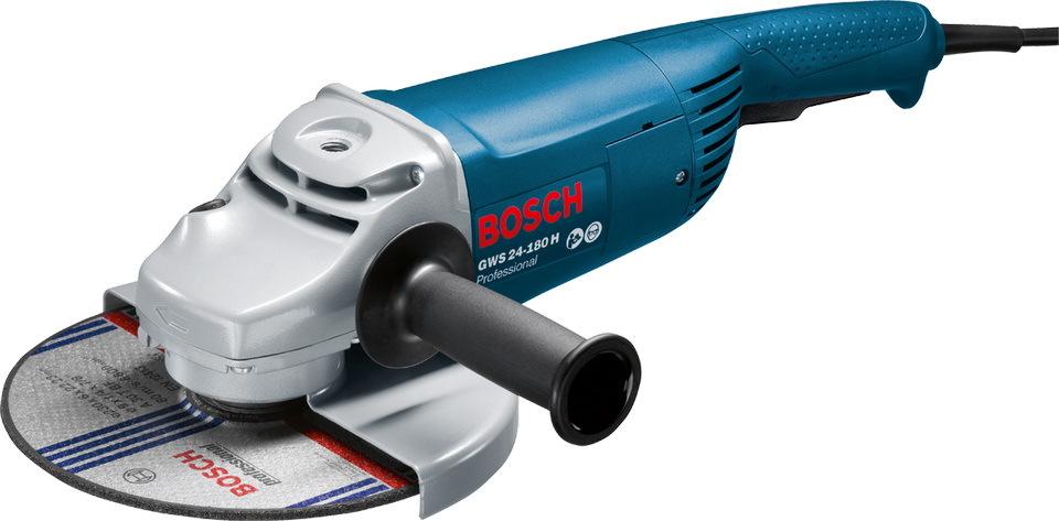 Угловая шлифмашина Bosch GWS 24-180 H Professional 0601883103