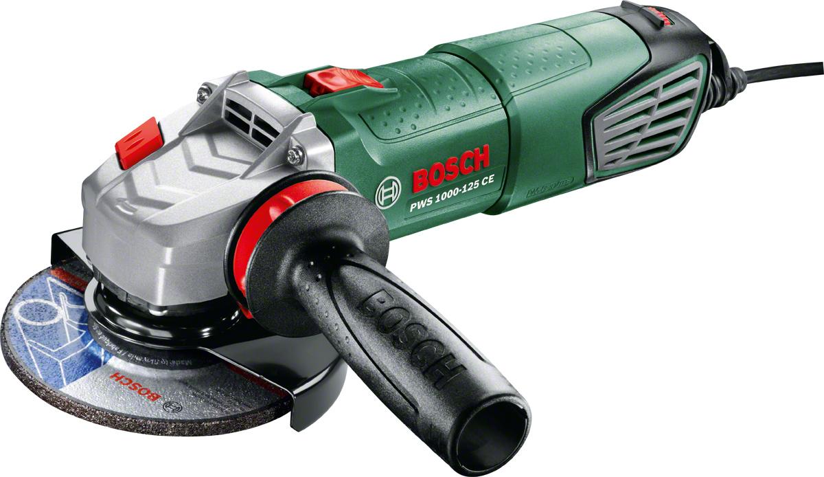 Угловая шлифмашина Bosch PWS 1000-125 CE 06033A2820
