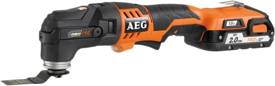 Шлифовальная машина AEG OMNI 18C LI-202BKIT1X 4935446705