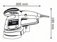Шлифовальная машина Bosch GEX 125 AC Professional 0601372565