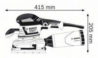 Шлифовальная машина Bosch GSS 230 AVE Professional 0601292801