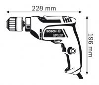 Дрель безударная Bosch GBM 6 RE Professional 0601472600