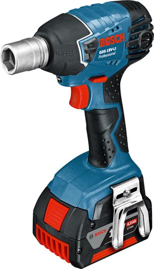 Гайковерт ударный Bosch GDS 18 V-LI Professional 06019A1S0C