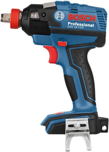 Гайковерт ударный Bosch GDX 18 V-EC Professional 06019B9102
