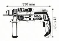 Дрель ударная Bosch GSB 19-2 RE Professional 060117B500