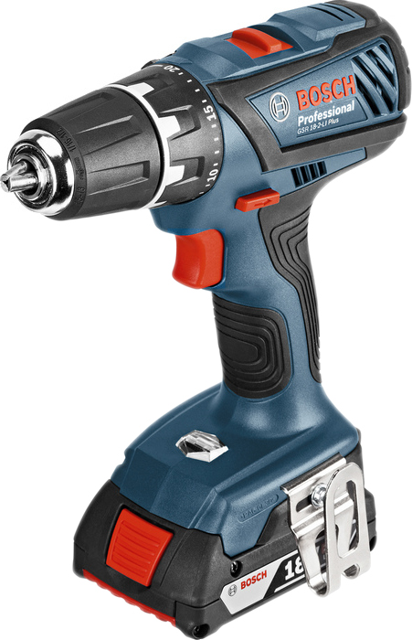 Дрель-шуруповерт Bosch GSR 18-2-LI Plus Professional 06019E6120