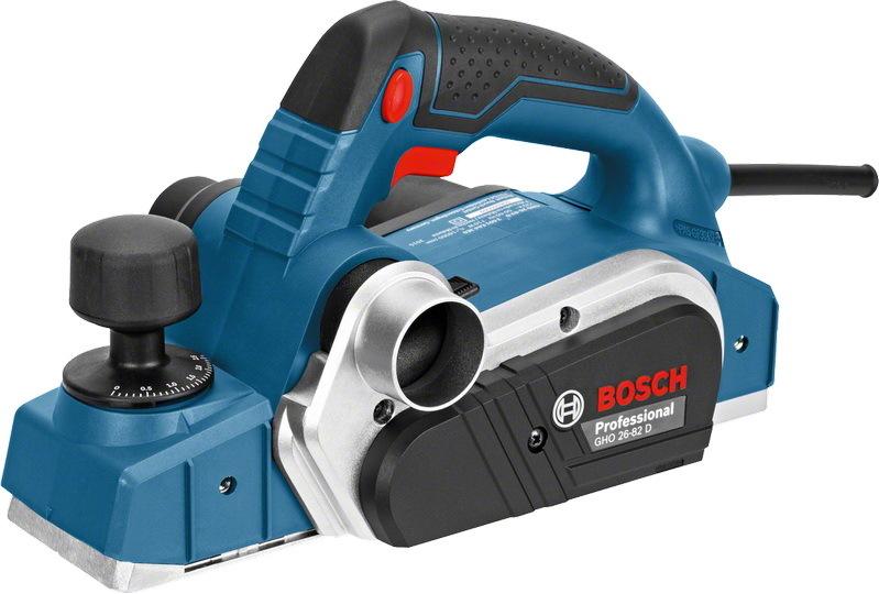 Электрорубанок Bosch GHO 26-82 D Professional [06015A4301]