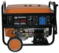 Генератор Daewoo Power GDA 6500E