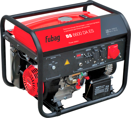 Генератор FUBAG BS 6600 DA ES