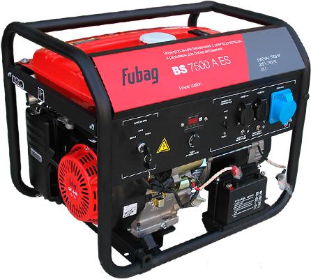 Генератор FUBAG BS 7500 A ES
