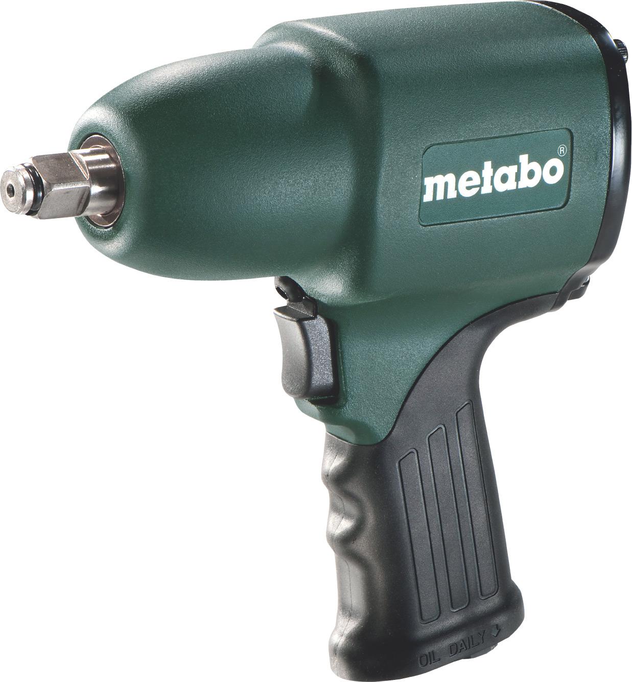 Пневмогайковерт Metabo DSSW 360 Set 604118500