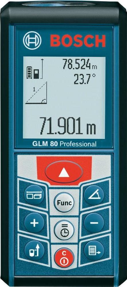 Лазерный дальномер Bosch GLM 80 Professional (0601072300) 0601072300