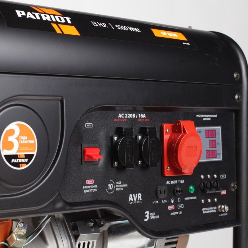 Генератор Patriot GP 6530