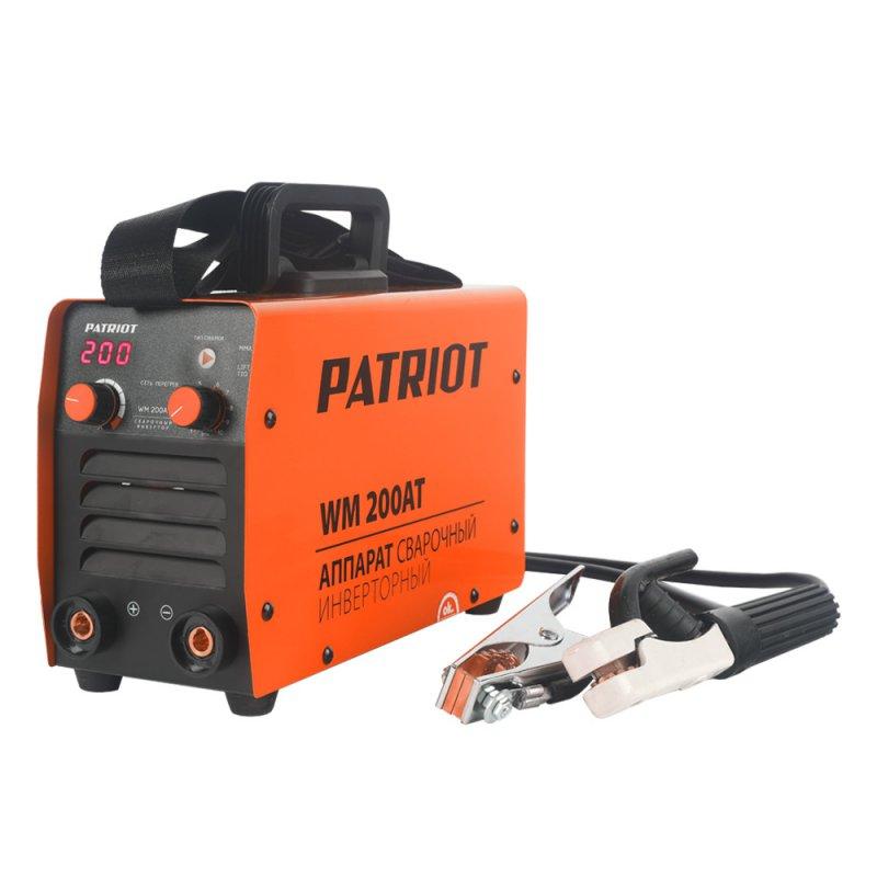 Сварочный аппарат инверторный Patriot WM 200AT MMA