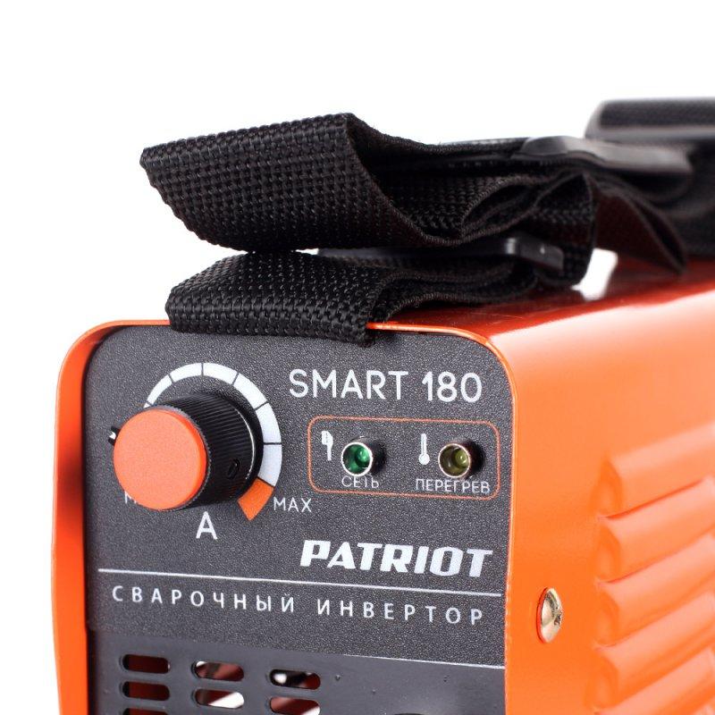 Сварочный аппарат инверторный Patriot SMART 180 MMA
