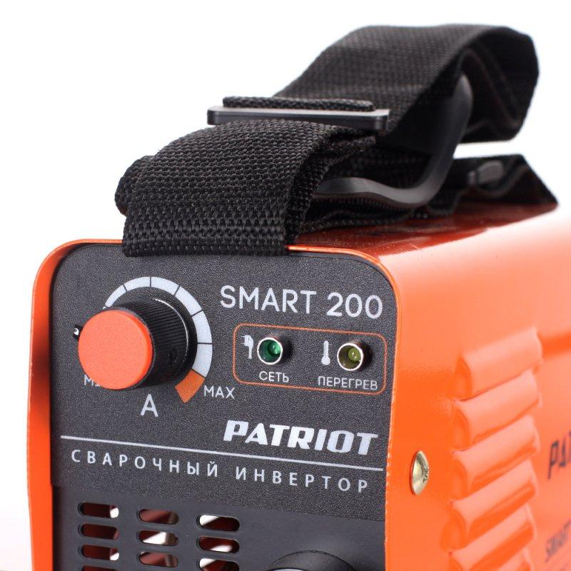 Сварочный аппарат инверторный Patriot SMART 200 MMA