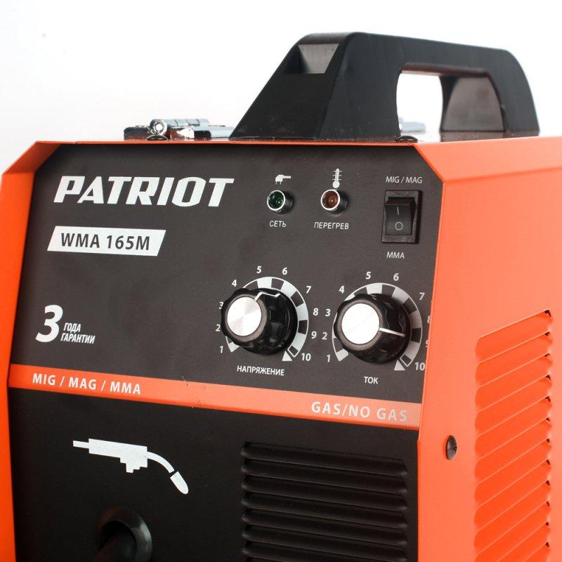 Сварочный аппарат инверторный Patriot WMA 165M
