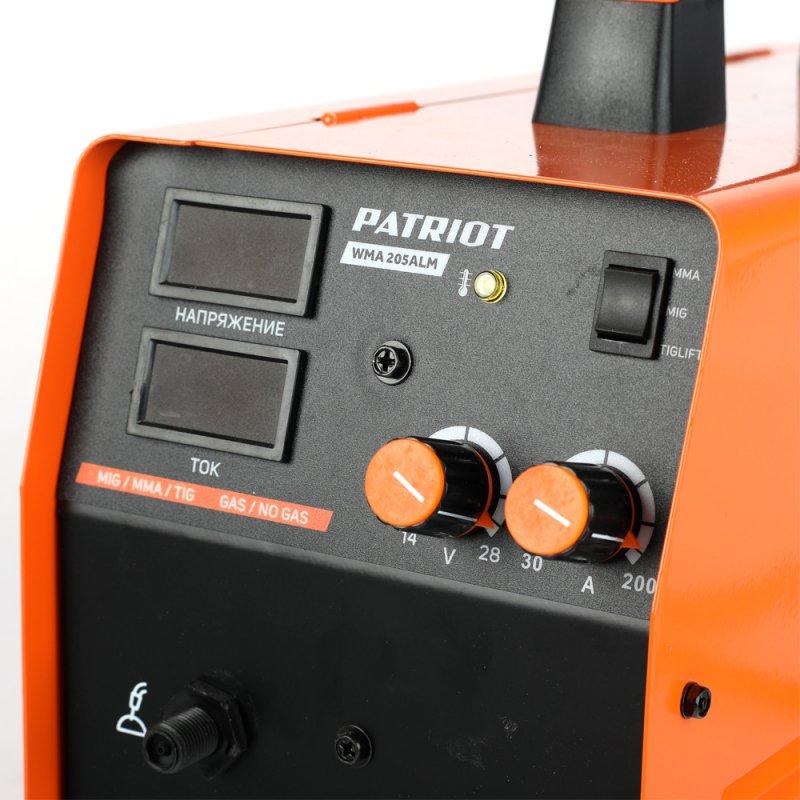 Сварочный аппарат инверторный Patriot WMA 205ALM