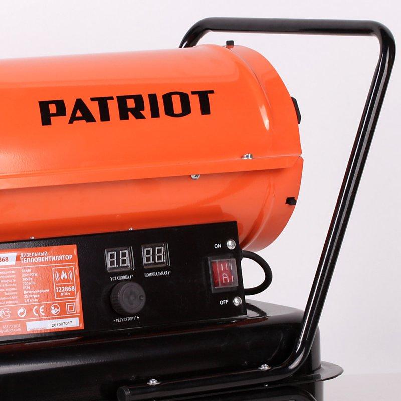 Теплогенератор дизельный Patriot DTC 368