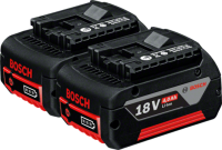 Аккумулятор для инструмента Bosch GBA 18V 4.0 А/ч 2шт